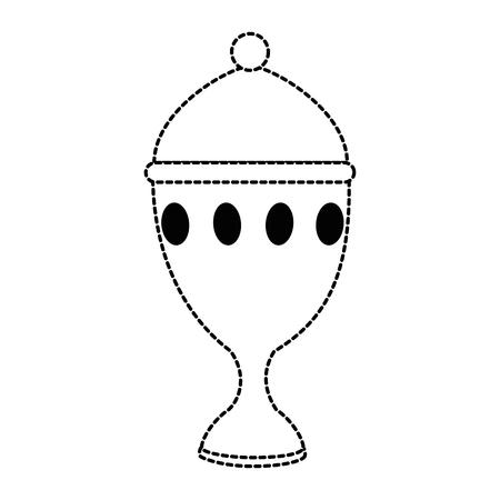 Calice tasse icône isolé design illustration vectorielle Banque d'images - 93735962
