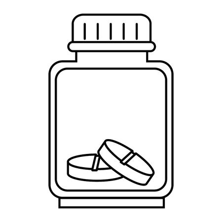 bottle drugs isolated icon vector illustration design. Фото со стока - 93731169