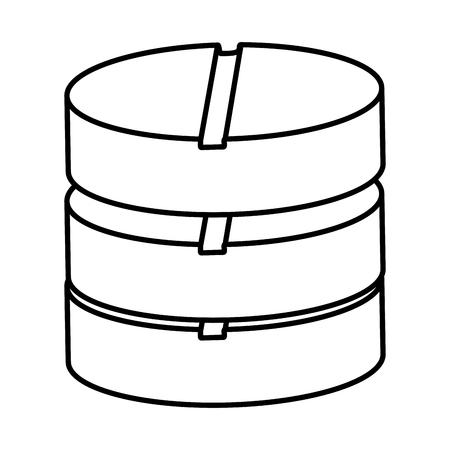 pills drugs isolated icon vector illustration design. Çizim