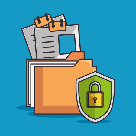 blockchain business set ícones ilustração vetorial design