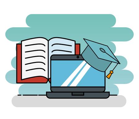 교육 학교 아이콘 벡터 일러스트 디자인 설정 스톡 콘텐츠 - 93874764