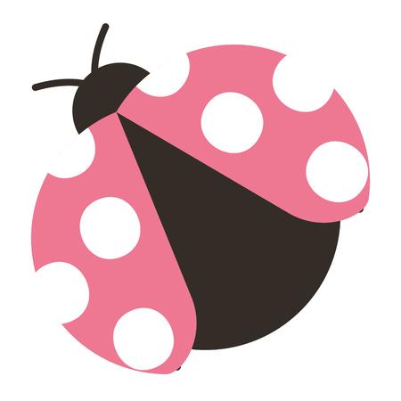 Ladybug icon 일러스트