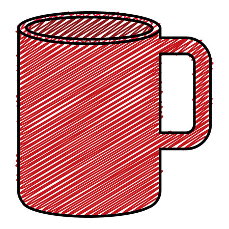 coffee cup hot icon vector illustration design