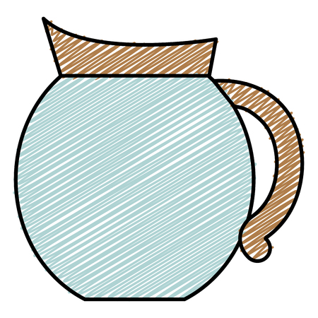 kettle coffee isolated icon vector illustration design