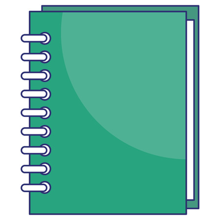 Notebook isolated icon vector illustration design Illustration