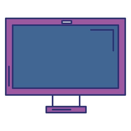 monitor computer isolated icon vector illustration design Stock Vector - 93919605