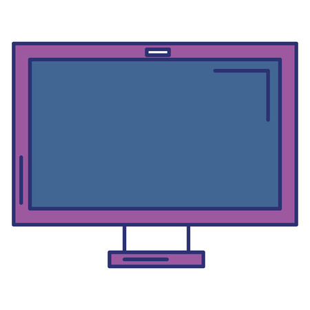 monitor computer isolated icon vector illustration design
