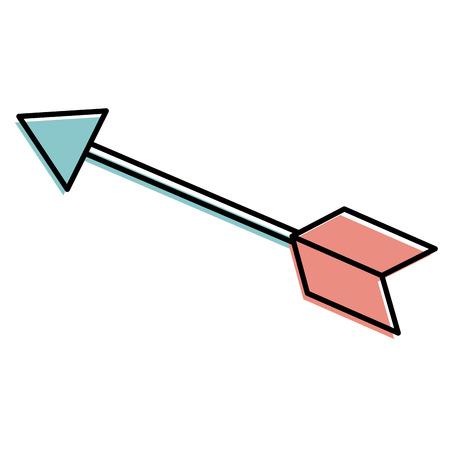 arrow indian isolated icon vector illustration design 向量圖像
