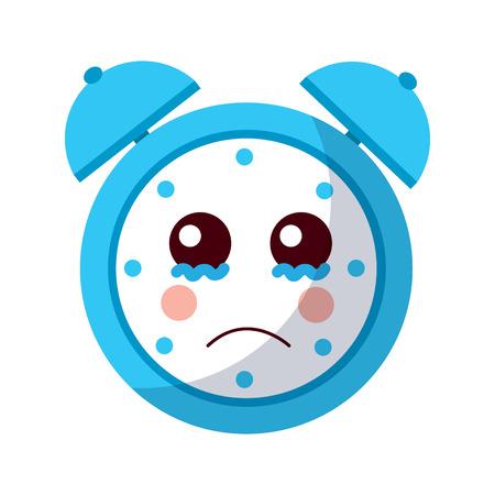 cartoon clock alarm character vector illustration Фото со стока - 93985297