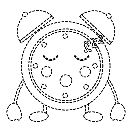 clock sleeping icon image vector illustration design