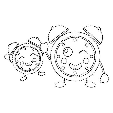 時計アイコン画像ベクトルイラストデザイン
