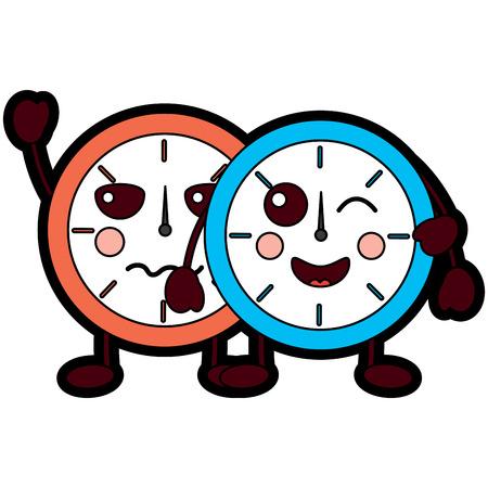 clocks  icon image vector illustration design Illustration