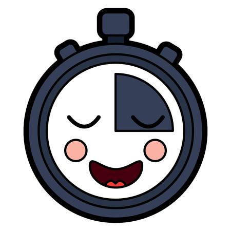 Chronomètre speed ? ? de vitesse personnage de dessin animé illustration vectorielle Banque d'images - 94049291