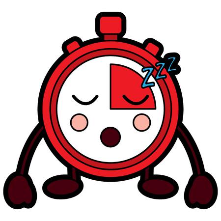 Chronomètre speed ? ? de vitesse personnage de dessin animé illustration vectorielle Banque d'images - 94045816