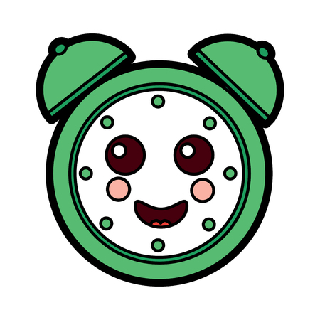 happy clock  icon image vector illustration design