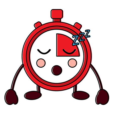 chronometer sleeping  icon image vector illustration design