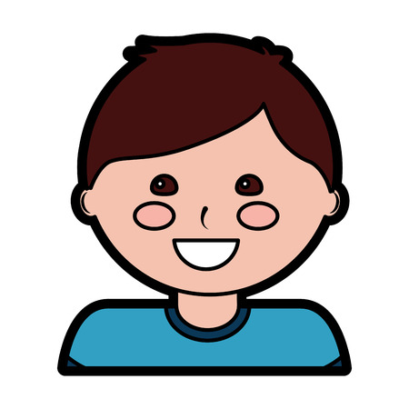 Happy boy kid child icon image vector illustration design 版權商用圖片 - 94104126