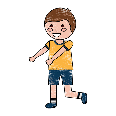 Happy boy kid child icon image vector illustration design 版權商用圖片 - 94106518