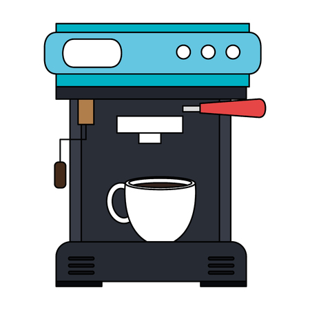 coffee machine isolated icon vector illustration design Ilustração