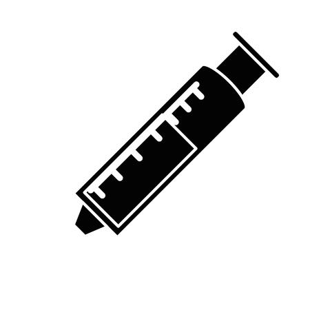 医療注射絶縁アイコンベクトルイラストデザイン  イラスト・ベクター素材
