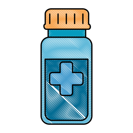 bottle drugs isolated icon vector illustration design Фото со стока - 94202141
