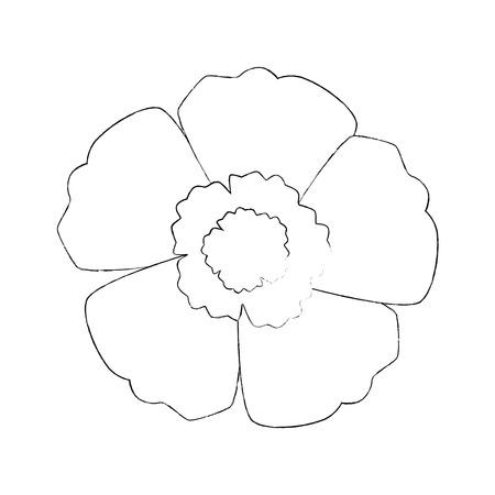 Progettazione dell'illustrazione di vettore dell'icona isolata fiore esotico Archivio Fotografico - 94354107