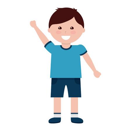 Happy boy kid child icon image vector illustration design 版權商用圖片 - 94209158
