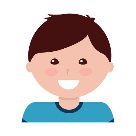 Happy boy kid child icon image vector illustration design 版權商用圖片 - 94210257