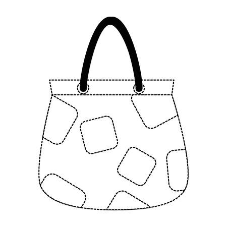 woman handbag isolated icon vector illustration design Ilustracja