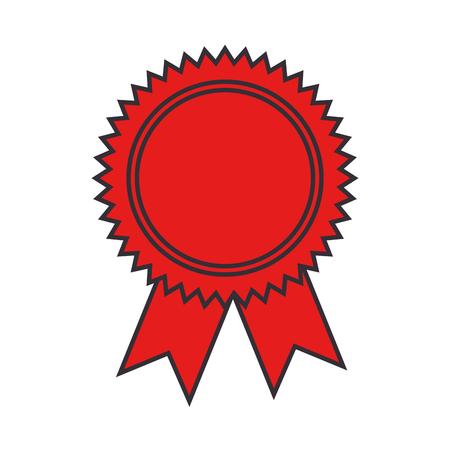 Siegel Diplom isoliert Symbol Vektor-Illustration , Design ,