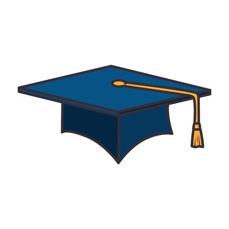 卒業帽子×アイコンベクトルイラストデザイン 写真素材 - 94232916