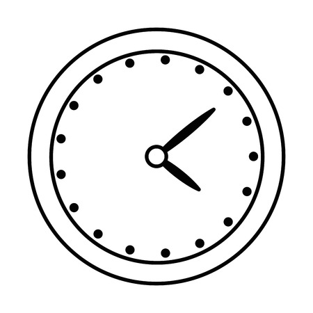time clock isolated icon vector illustration design 版權商用圖片 - 94216897