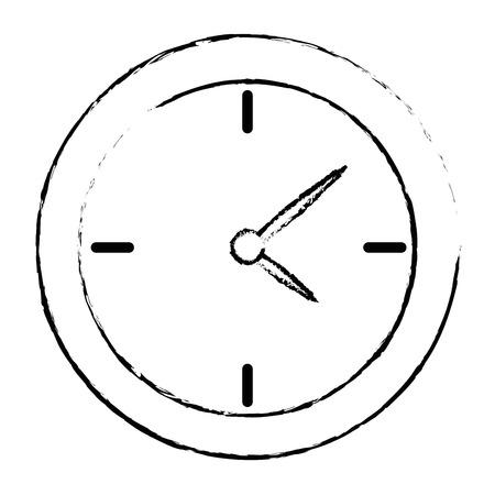 time clock isolated icon vector illustration design 版權商用圖片 - 94232944