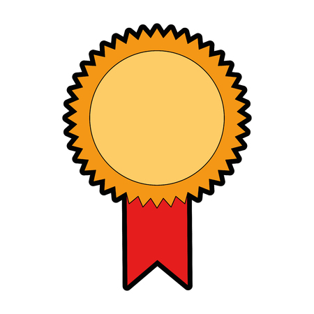 seal diploma isolated icon vector illustration design