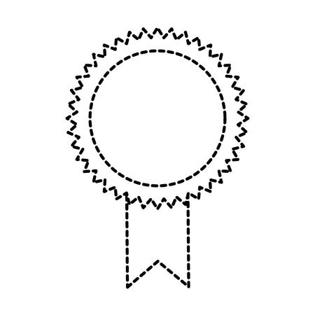 Selo diploma isolado ícone vector ilustração design Foto de archivo - 94222282