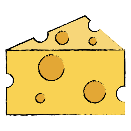 cheese piece isolated icon vector illustration design Фото со стока - 94439534