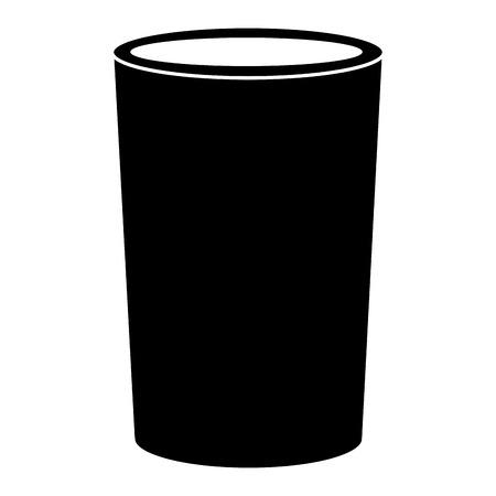 soda glass isolated icon vector illustration design Reklamní fotografie
