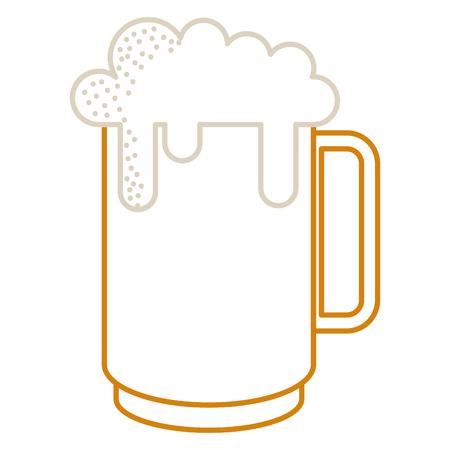 화이트 절연 맥주 아이콘의 낯 짝입니다.