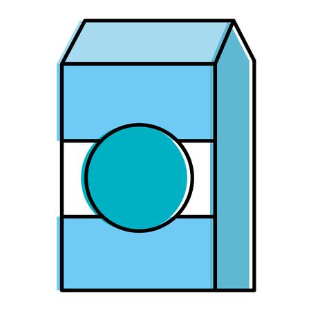 milk box isolated icon vector illustration design
