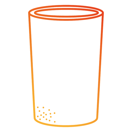 soda glass isolated icon vector illustration design Illustration