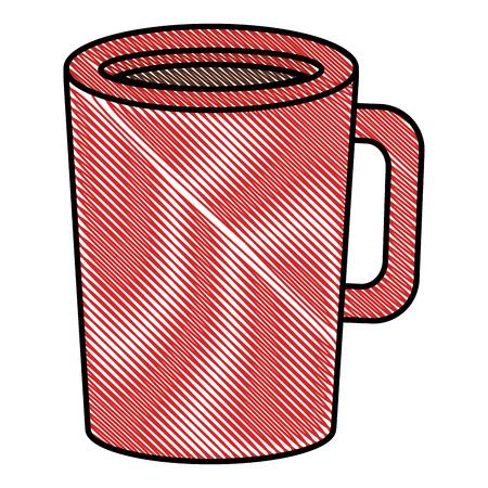 Coffee cup icon illustration. Illustration