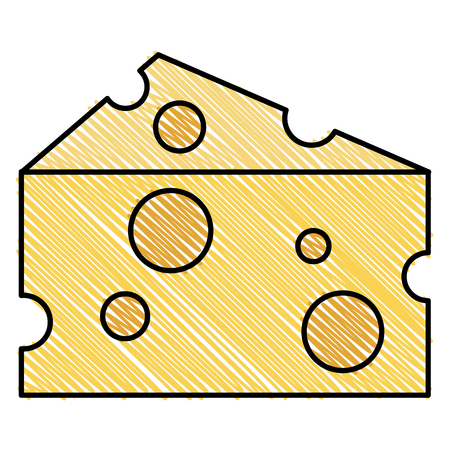 cheese piece isolated icon vector illustration design 版權商用圖片 - 94428904