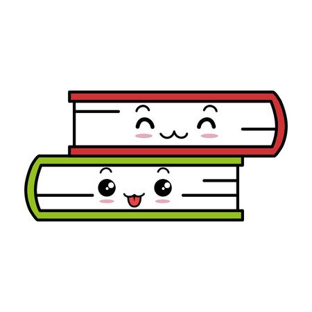 Vector de illustratieontwerp van het boekenboeken geïsoleerd pictogram