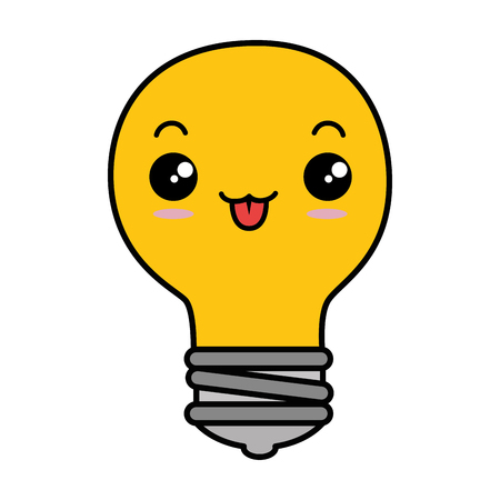 Bulb light isolated icon. Vector illustration design. Illustration