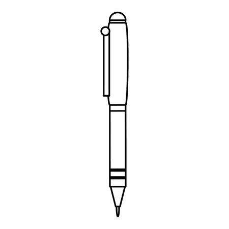 Pen writer isolated icon. Vector illustration design.