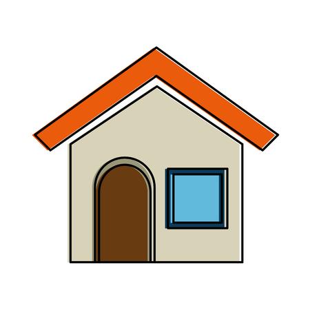 house home isolated icon vector illustration design Banco de Imagens - 94434930