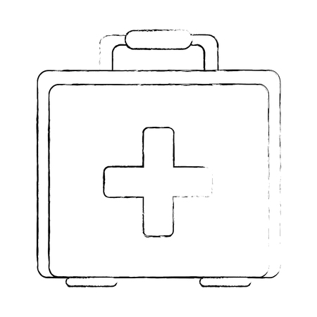 Medical kit isolated icon. Vector illustration design. Illustration
