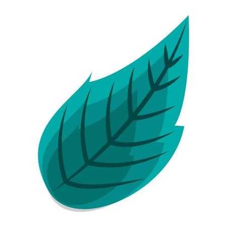 자연 잎 식물 봄 이미지 벡터 일러스트 레이션 일러스트