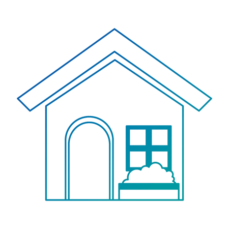 house home isolated icon vector illustration design