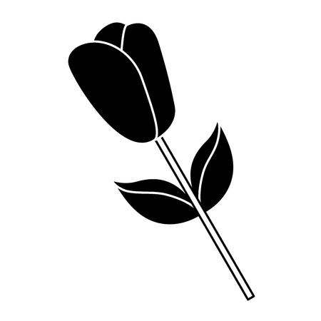꽃 줄기 꽃잎 자연 봄 이미지 벡터 일러스트 레이 션 단풍